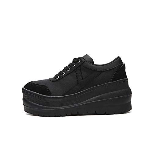 Walking Wedges Oxfords Sport Shoes Women's b Toe Shoes Round Heel DANDANJIE Fall Comfort Shoes RwZqcF0