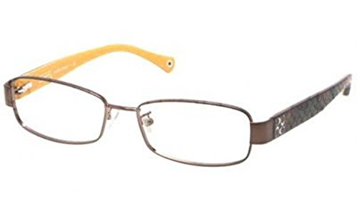Eyeglasses Coach HC5001 9023 DARK BROWN DEMO LENS