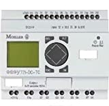 Programmable Relay, easy700 Series, 12 Inputs, 8 Transistor Outputs, 24 Vdc, Clock, Display