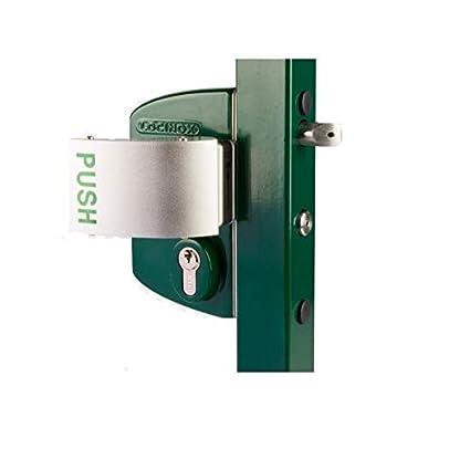 Cerradura Tipo Industrial antipánico), perfil cuadrado 60 mm-80 mm ...