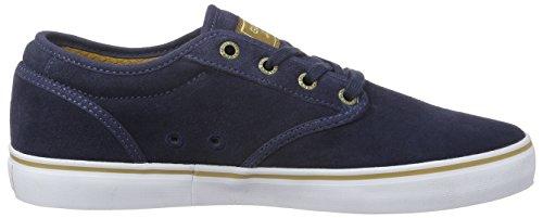 GlobeMotley - Zapatillas Hombre Azul - Blau (Navy/Tan)