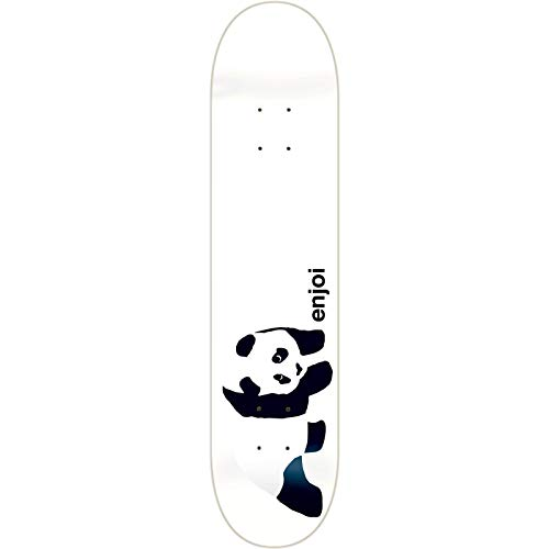 (Enjoi Skateboards Whitey Panda Skateboard Deck - 8