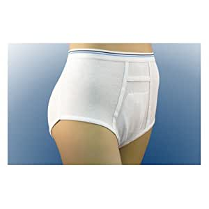 """Cotton Briefs or Panties (Set of 5) Size: Mens: 34"""" to 36"""" Waist Size"""