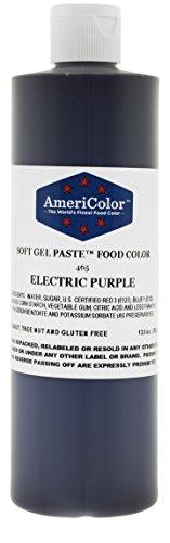 ELECTRIC PURPLE 13.5 Ounce Soft Gel Paste Food Color ()