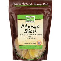 Mango Slices Low Sugar, 10 oz by Now Foods (Pack of 3) by NOW Foods