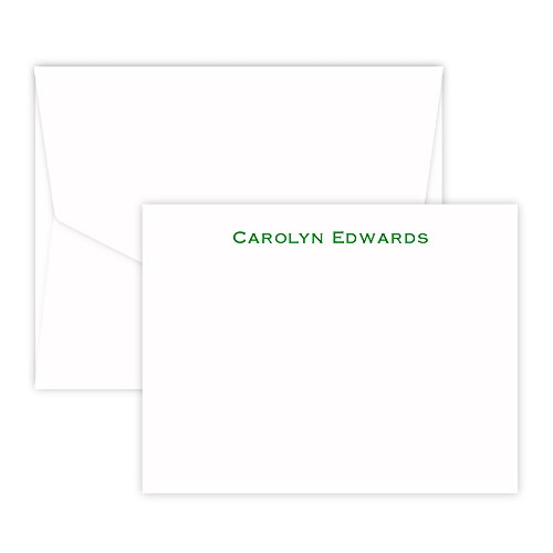 Personalized Bellmore Card - Raised Ink (White)