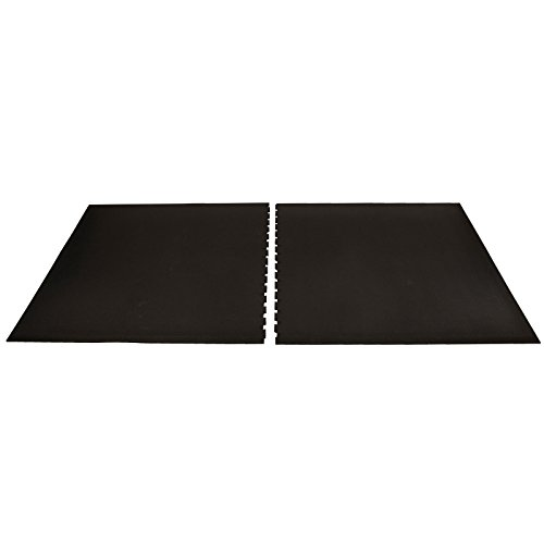 IncStores 3/4in Shock Mats Interlocking Heavy Duty High Impact Weight Room Gym Flooring ()