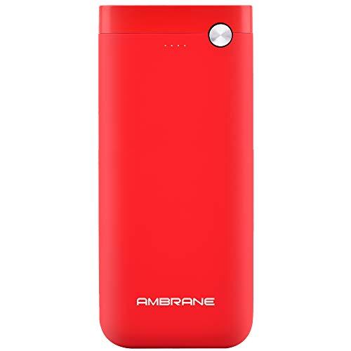 Ambrane PP 20 20000mAh Lithium Polymer Power Bank  Red
