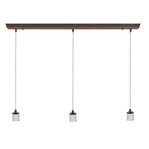 Access Lighting 52023FC-ORB Trinity Three Light Linear Pendant, Oil Rubbed Bronze Finish by Access ()