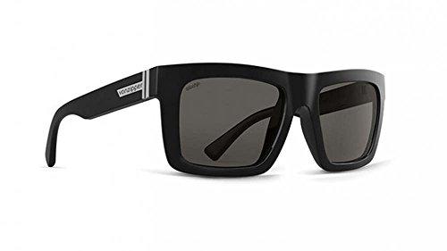 VonZipper Mens Donmega Polarized Sunglasses Black Gloss Wildlife / Vintage - Sunglasses Polarized Von Zipper