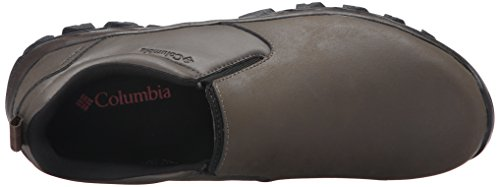 Columbia - Newton RidgeTM Plus Moc Waterproof da uomo Mud/Red Dahlia