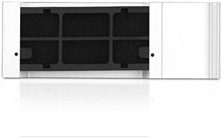 Silver iStarUSA DD-200-SE-SILVER 2U Black Bezel for SE Series