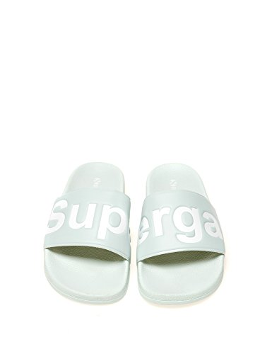 SUPERGA Women's 1908-Puu Women's Slides In Grey In Size 39 Grey
