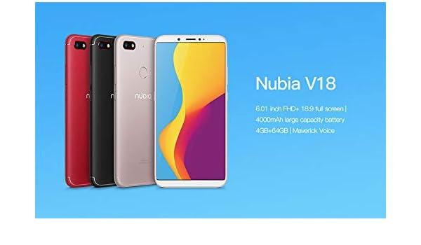 Alician Electronic for Versión Global ZTE Nubia V18 4GB 64GB 6.01