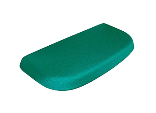 Spandex Fabric Cover for a lid Toilet Tank - Handmade in USA (Green)