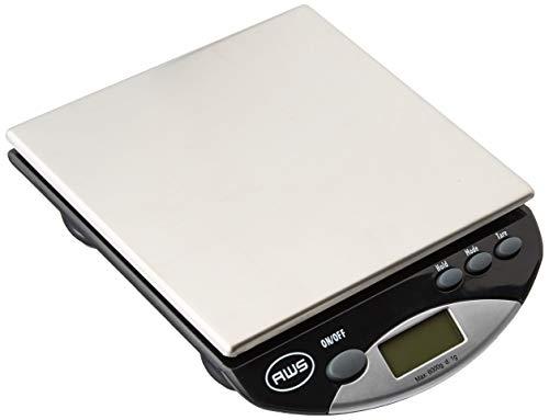American Weigh Scales AMW13-BK AMW-13 Digital Postal/Kitchen Scale, 13 lb./6 kg, Black