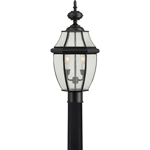 Quoizel  Downtown Pendant in Polished Chrome (2 Light Chrome Black)