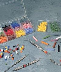 VSTS Silitone Color Bands Refill Green 50 Per Box by Miltex-Integra Miltex -P...