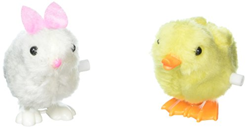 Wind Up Jumping Chicken Bunnies Favors