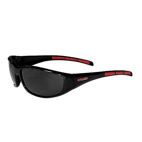 NFL San Francisco 49ers Wrap Sunglasses - San Francisco 49ers Nfl Football