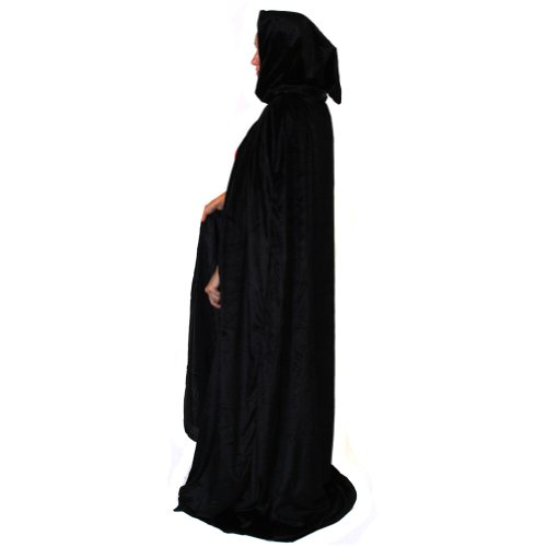 Storybook Wishes Deluxe Lined Black Cloak (Storybook Themed Halloween Costumes)