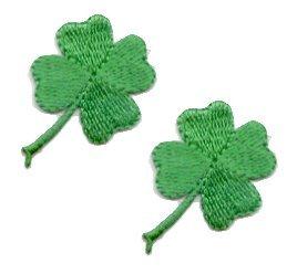 Amazoncom Small Four Leaf Clover Lucky Irish Shamrock 2 FOR