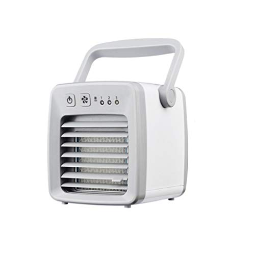 BingYELH Mini Fan Portable Air Cooler   Clean Tank Technology, Small Cooling Unit, Quiet   Energy Saving, Environmentally Friendly, Cooling System for Dorm, Office, Bedroom, -