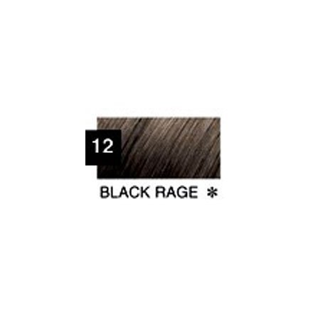 Roux Fanci-full Color Refreshing Rinse, #12 Black Rage - 11 Oz (2 Pack)