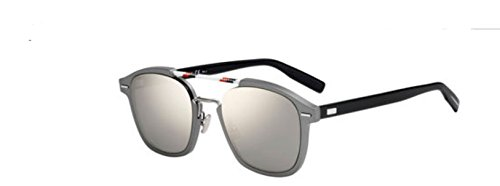 New Christian Dior Homme Al 13_13 06LB/QV Ruthenium Sunglasses - New Dior Glasses