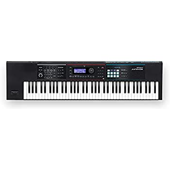 Roland Lightweight, 76-note Synth-action Keyboard with Pro Sounds  (JUNO-DS76)