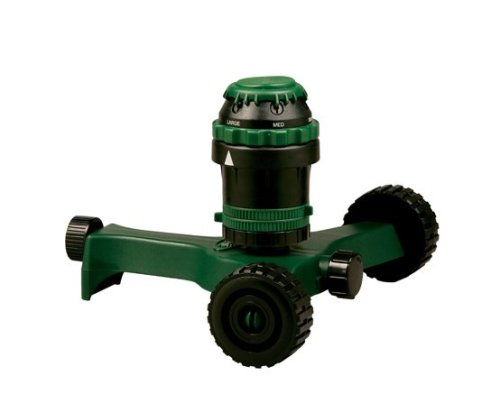 Orbit H2O-6 Gear Drivev Sprinkler with Wheels 58572