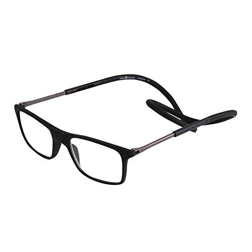 Inovey Magnética Cuello Colgante Unisex Gafas De Lectura Ajustables Vidrio Presbicia Plegable