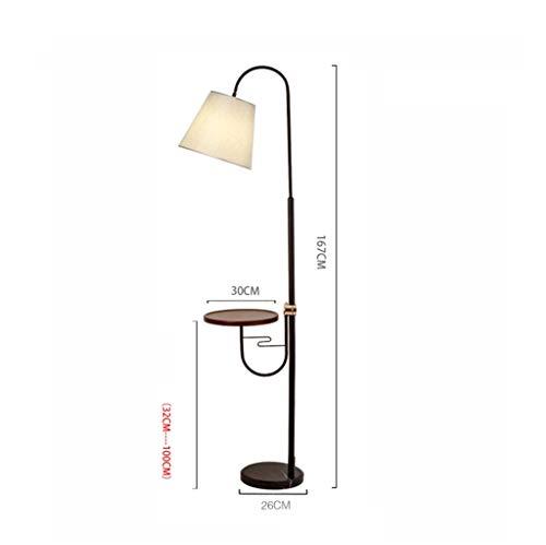 Living Room Floor Lamp Floor Lamp, Living Room Sofa Light Bedroom Bedside Lamp Coffee Table Lamp E27 220VReading Floor Lamp,Trichromatic Light 8w