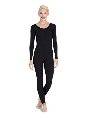 Capezio Long Sleeve Unitard - Size Medium, Black
