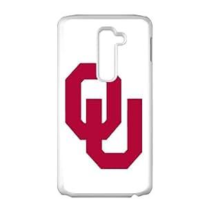 NCAA Oklahoma Sooners White Phone Case for LG G2