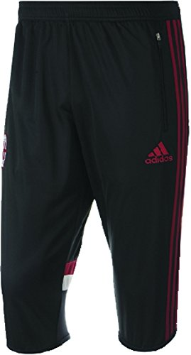 Adidas AC Milan 3/4 PANT [BLACK/VICRED/CWHITE] (L)