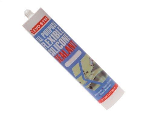 Evostik A P Flex Silicone Seal   Clear 112896 By Evo Stik