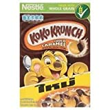 Koko Krunch Whole Grain Breakfast Cereals Wheat Crackers Choco Caramel 330g.
