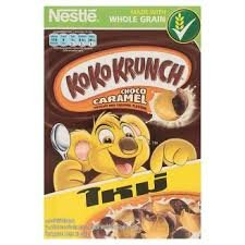 [Koko Krunch Whole Grain Breakfast Cereals Wheat Crackers Choco Caramel 330g.] (Bit O Honey Costume)