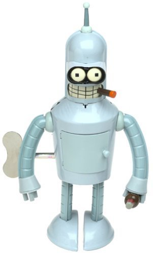 Wind Up Bender - Futurama Bender Wind-up Robot Action Toy by Rocket USA
