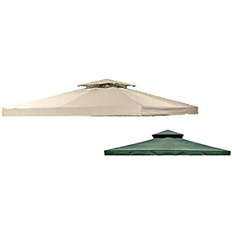 OPEN BOX Universal 12u0027 x 12u0027 Two-Tiered Replacement Gazebo Canopy Top Cover  sc 1 st  Amazon.com : 12x12 canopy replacement - memphite.com