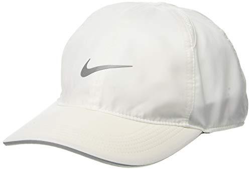 Nike Featherlight Running Cap, White, Misc
