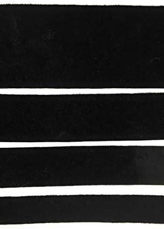 "HUGE LOT **20** Yards*3//8IN/""Black Fabric RIBBON*Trim"