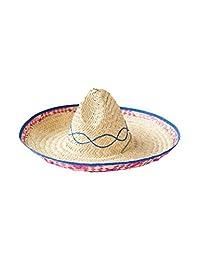 Rubie's Costume Co Embroidered Straw Sombrero