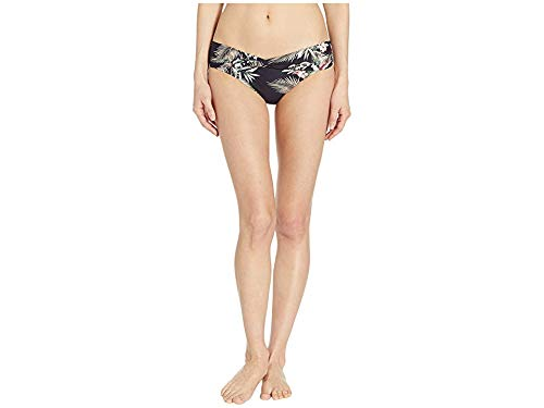 (Seafolly Women's Ocean Alley Twist Band Mini Hipster Bikini Bottom Black 4 US)