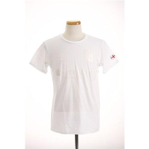 ただ多数のスロープアンブロ(UMBRO) ENGグラフィックS/Sシャツ UCS5341B WHWH