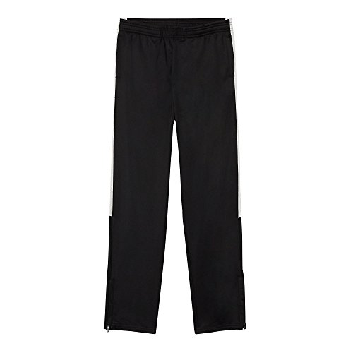 (French Toast Boys' Toddler Tricot Track Pant, New Black 2T)