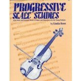 Rose, Linda - Progressive Scale Studies For Violin Published by Neil A Kjos Music Company