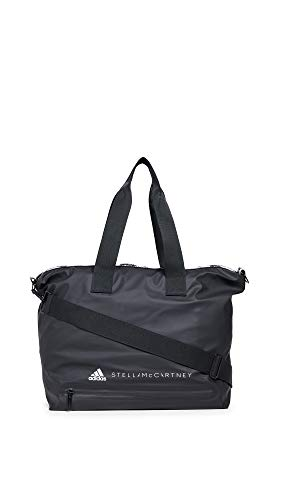 adidas by Stella McCartney Women's Studio Bag Tote, Black/White, One Size ()