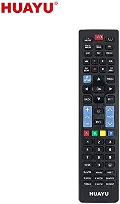 IHANDYTEC URC1536 - Mando a Distancia Universal para televisor Samsung y LG y Sony (LED, LCD, Plasma), Color Negro: Amazon.es: Electrónica